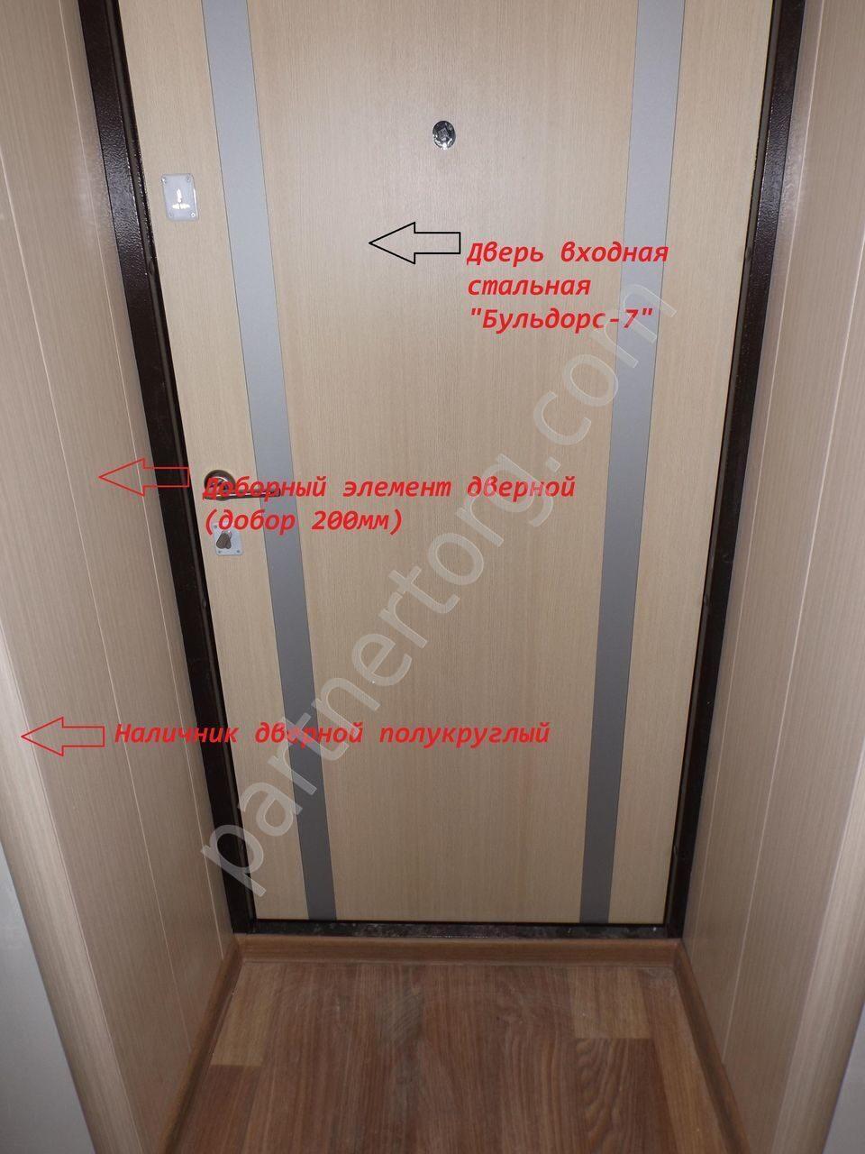 средняя цена на железную дверь москва