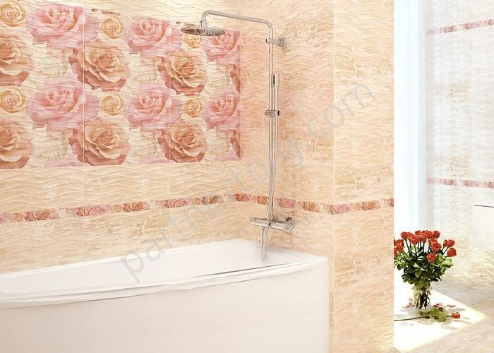 Плитка вейв роза фото в интерьере