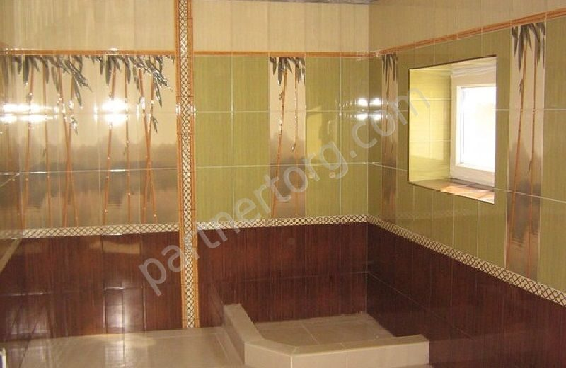Керамическая плитка бамбук