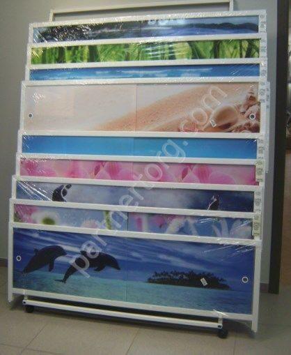 экраны для акриловых ванн раздвижные