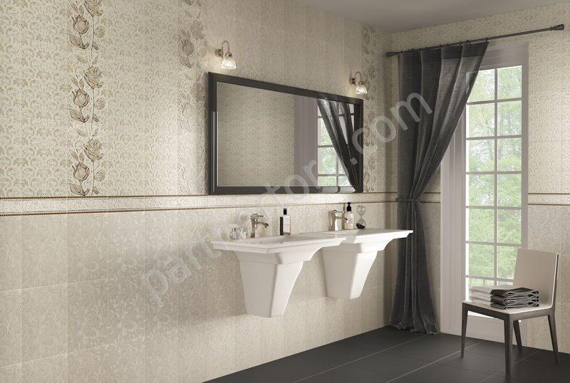 Кафельная плитка для ванной черный шахтинская