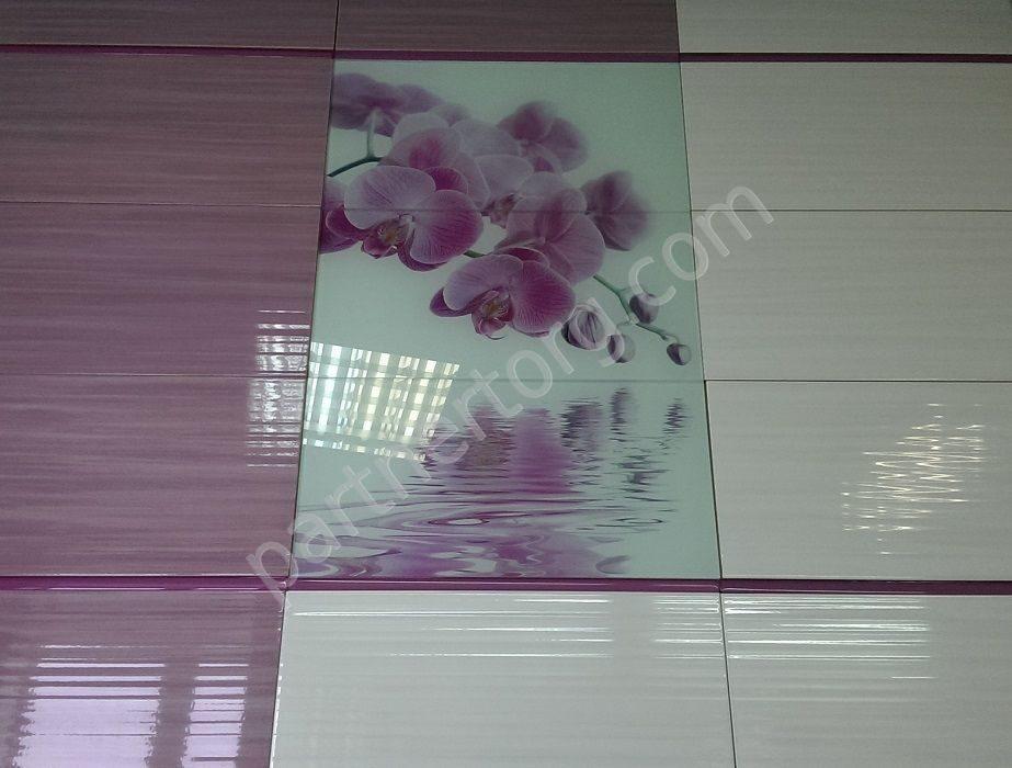 Керамическая плитка орхидея