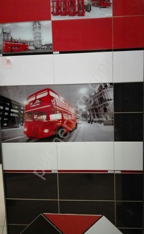 Плитка с декором лондон