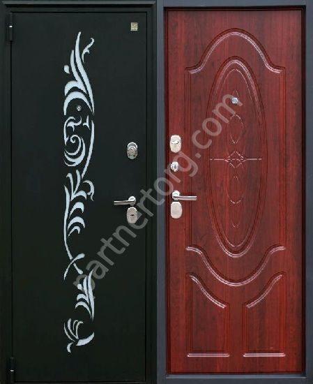 черный шелк дверь входная