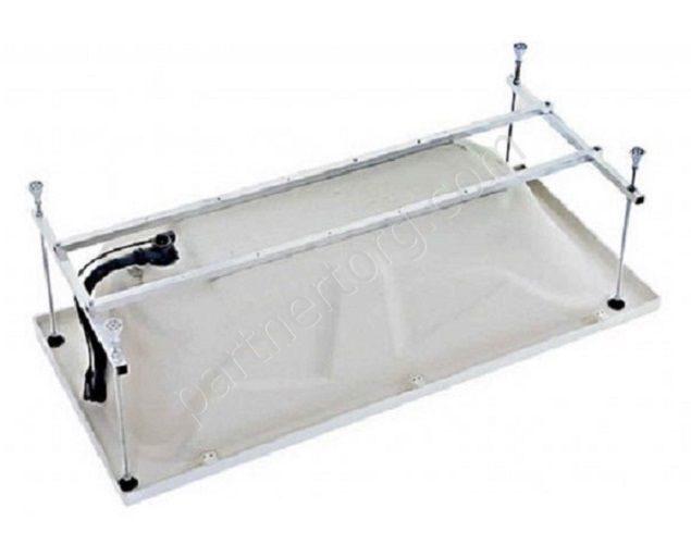 Акриловая ванна 1MarKa Classic 120х70, с каркасом джемили мебель для ванн