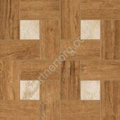 Natural Life Wood Honey Inserto Glamour керамогранит декор натуральный Italon 45х45см